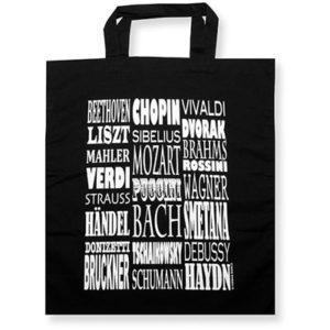 Čierna taška – skladatelia