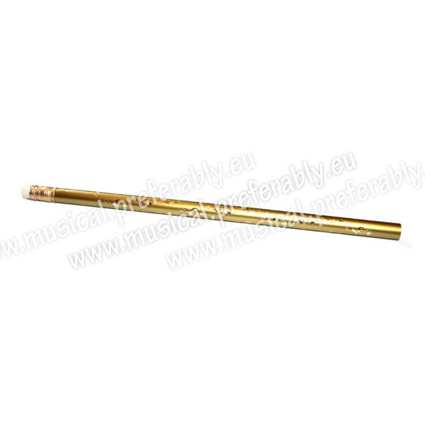 Ceruzka s husľovým kľúčom – zlatá