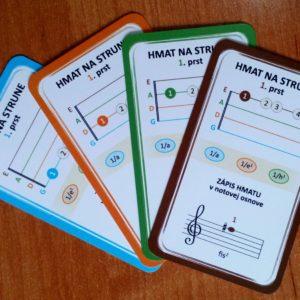 Kvarteto pre huslistov – edukačná hra