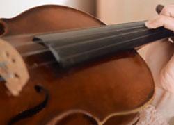 On-line výučba hry na husliach